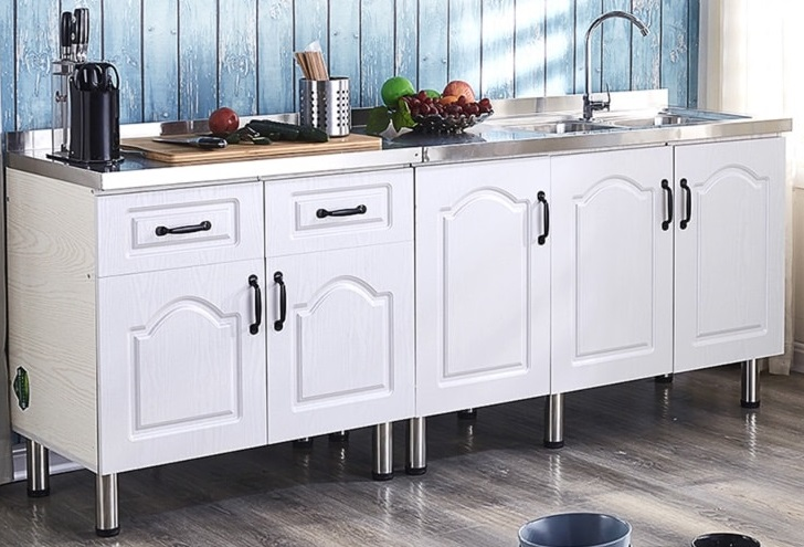 White Fribourg Freestanding Sink