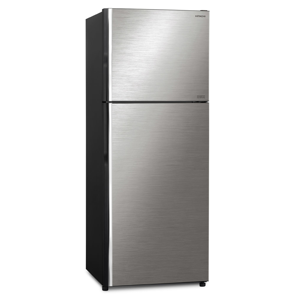 hitachi silver color 2 door  fridge in singapore