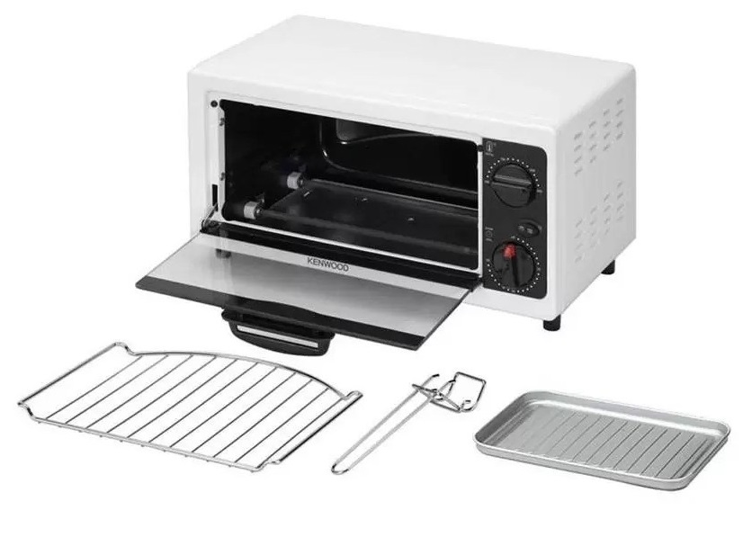 Kenwood Oven (White) - MO280 1 Litre, Metal build, Compact design