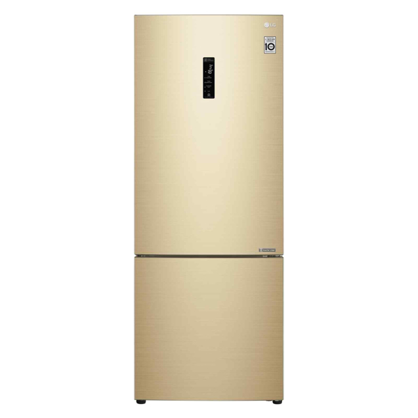 LG GB-B4459GV Bottom Freezer fridge in singapore Gold Color