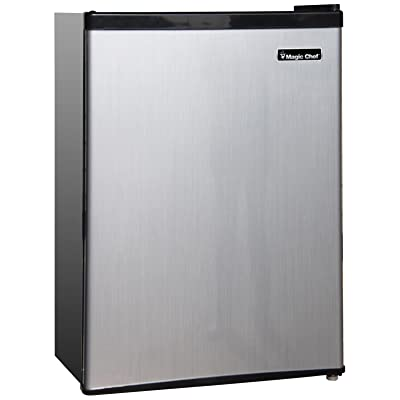 Magic Chef 3.5 Cu. Ft. Mini Refrigerator Stainless