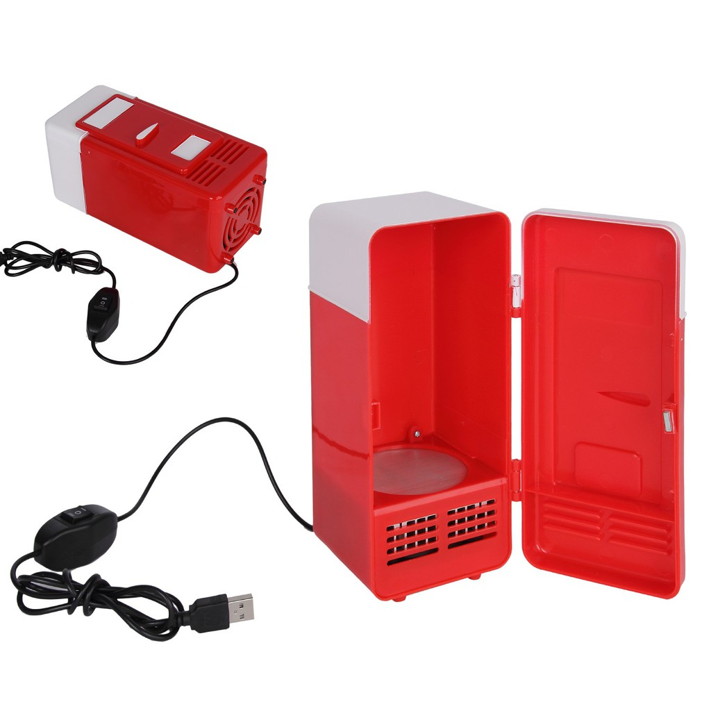 Mini USB LED PC Refrigerator Fridge Beverage Drink