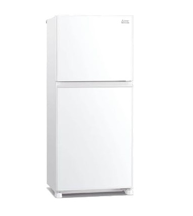 Mitsubishi MR-FX47EN-GWH-P Top Freezer Refrigerator Glass white color