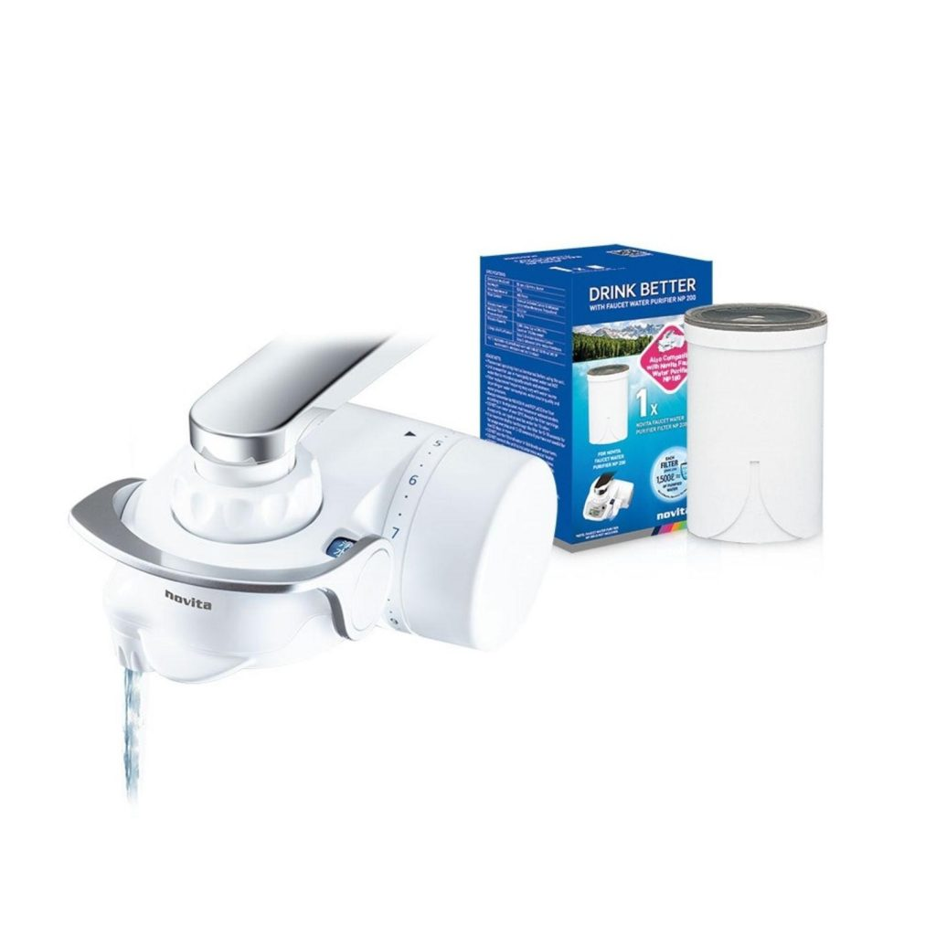 Novita Faucet Water Purifier NP180 Bundle Pack