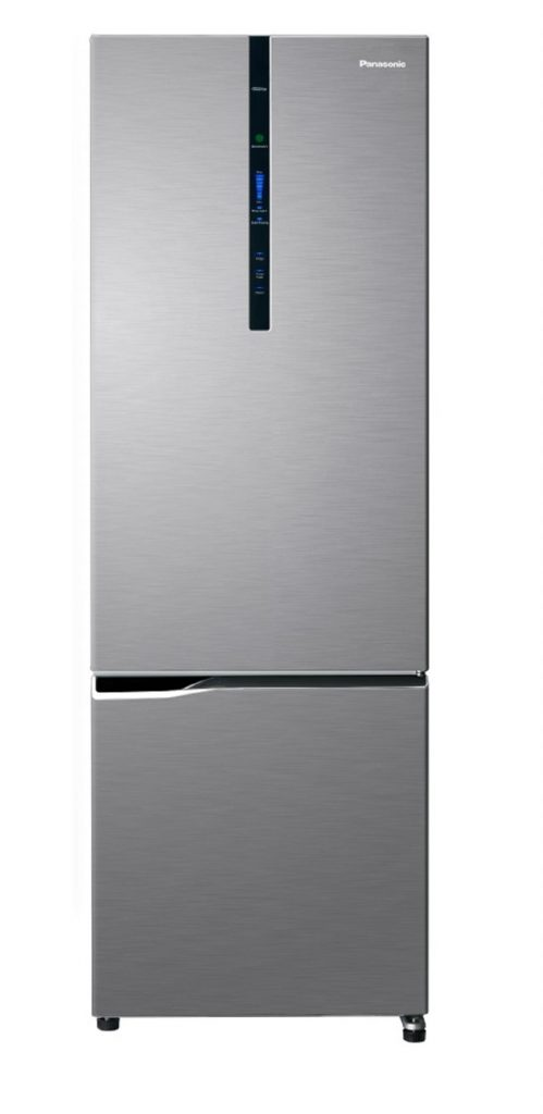 Panasonic NR-BV320XSSG 277L, 2-Door Bottom Freezer Fridge Silver color