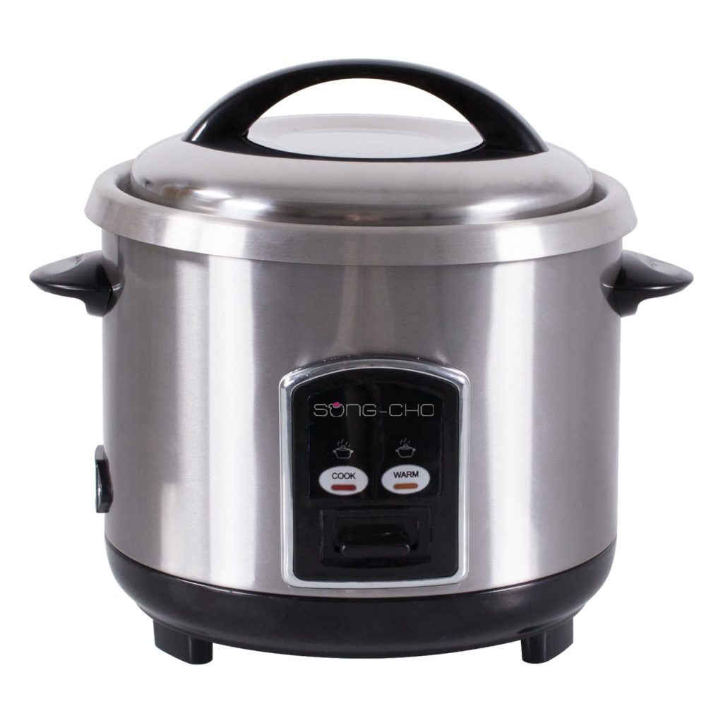 Song Cho 1.0L Silver ad black color Conventional Rice Cooker (SCC103)