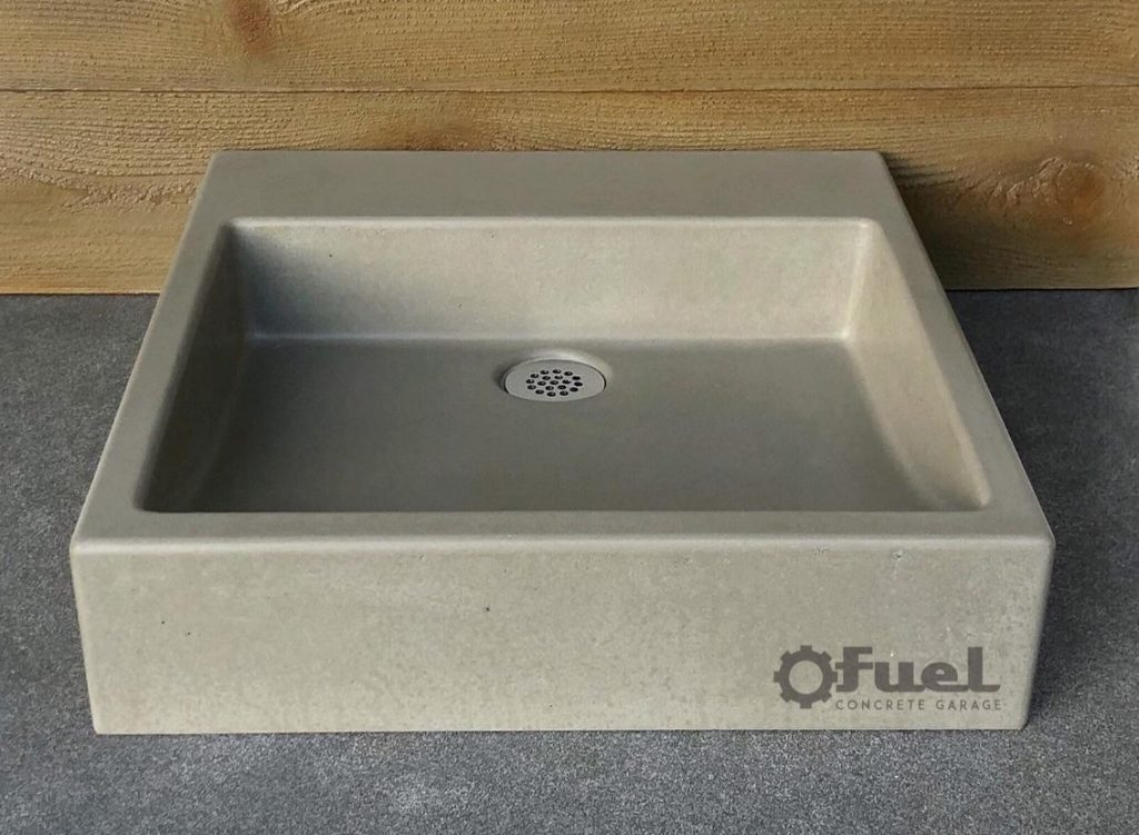 The Laurelhurst concrete sink