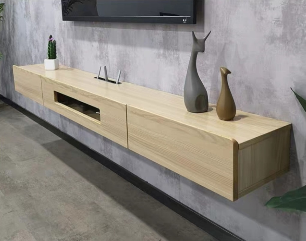 Wall Mount TV Console Cabinet