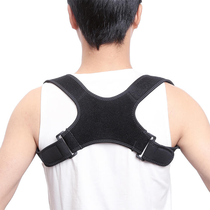 1 Pc Back Shoulder Humpback Posture Correction Pain Relief Corrector