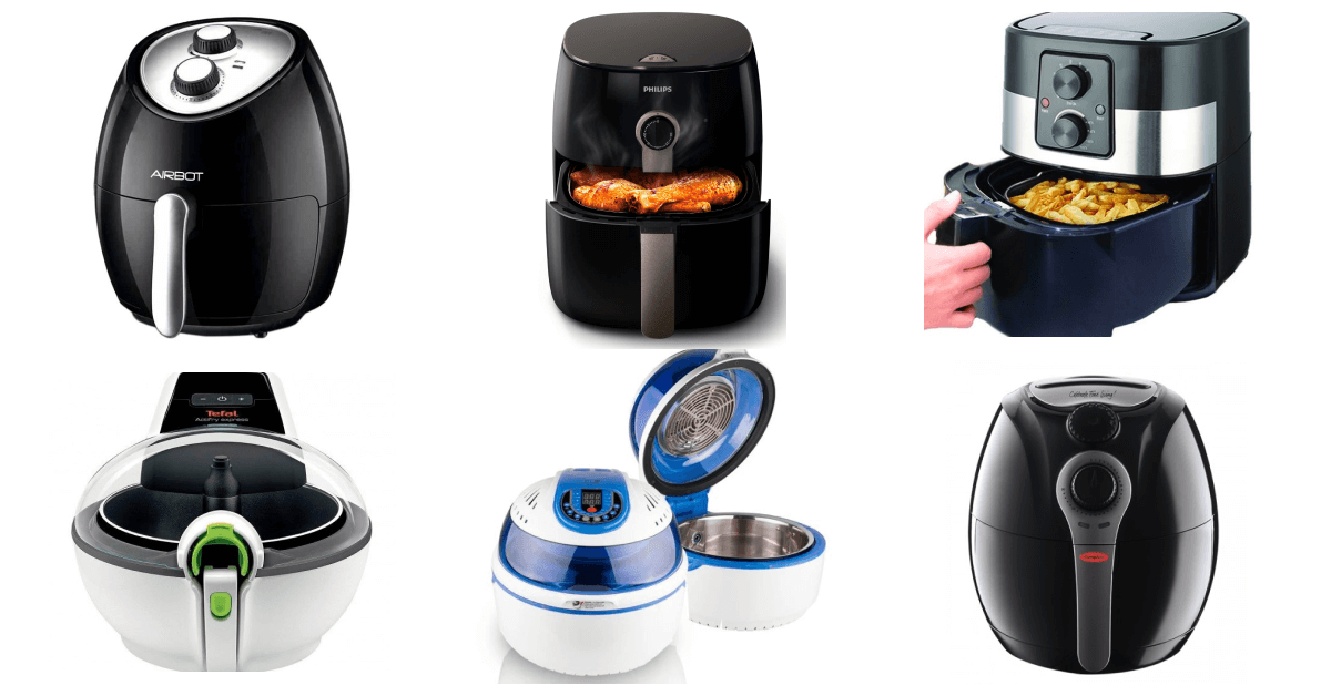 variety of air fryers to choose from