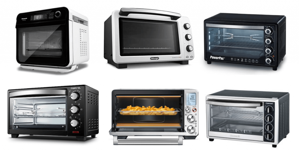 a variety of baking ovens to choose from