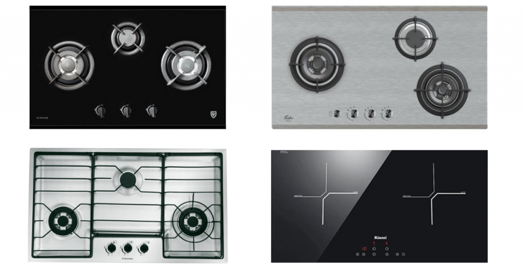 Stylish kitchen hobs in singapore