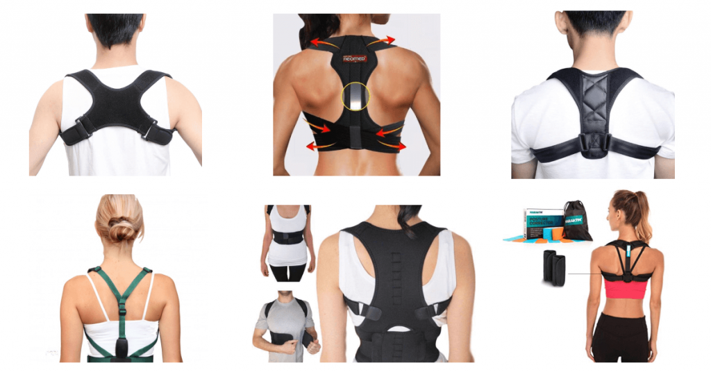 posture correctors worn by men and women