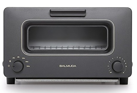 Steam oven toaster BALMUDA The Toaster K01A-KG Black