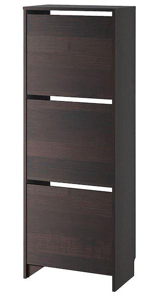 BISSA Shoe cabinet , brown color