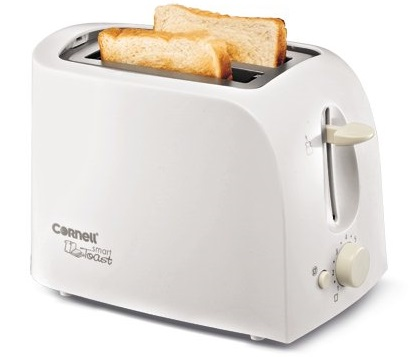 Cornell 2 Slice Pop Up Bread Toaster