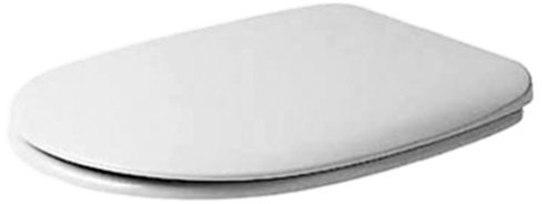 Duravit 0066300000 Darling Toilet Seat and Cover White Finish