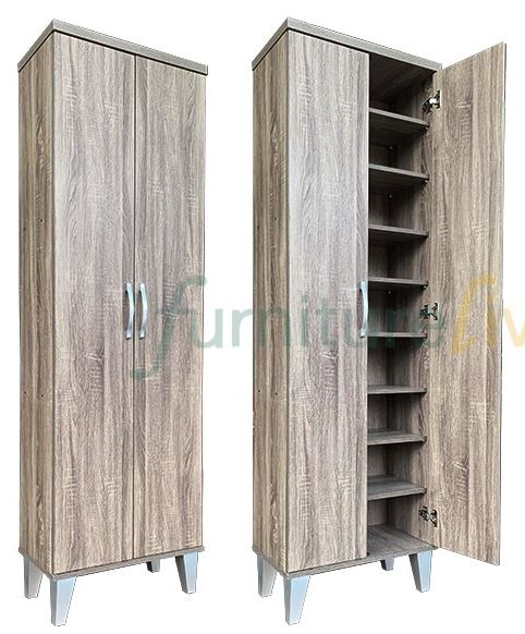 Furniture Living Tall Shoe Cabinet