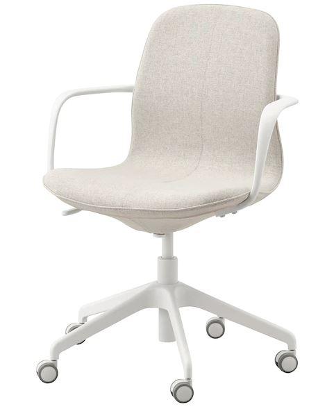LÅNGFJÄLLOffice chair with armrests