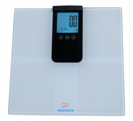 MedCheck Smart Body Fat Weight Scale