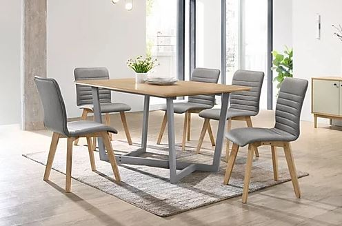 ROBBIN Dining Set in Mikuang furniture JB