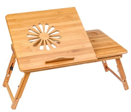Portable Folding Lap Desk Bamboo