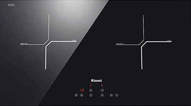 Rinnai 2 Zone 70cm Induction Cooker Rb7012h Cb