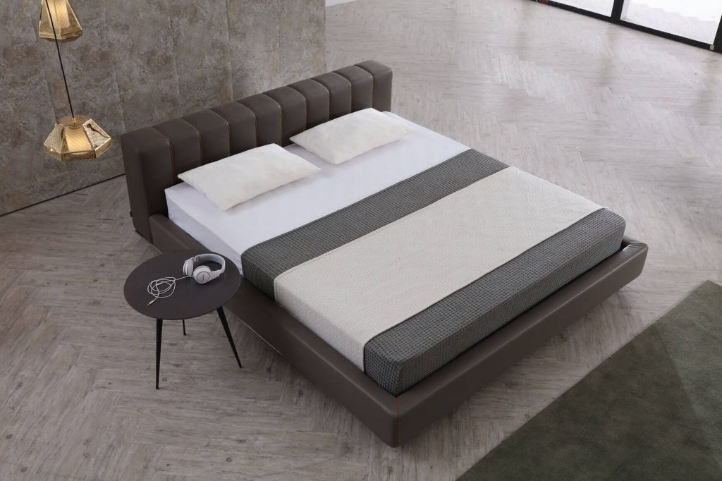 Premier bed with bedside table by Rustica furniture in JB