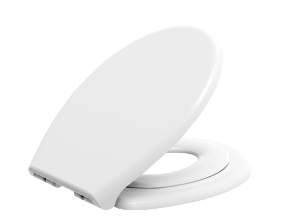 SHOWY ADULT TODDLER DUAL TOILET SEAT COVER C/W MAGNETIC HOLDER
