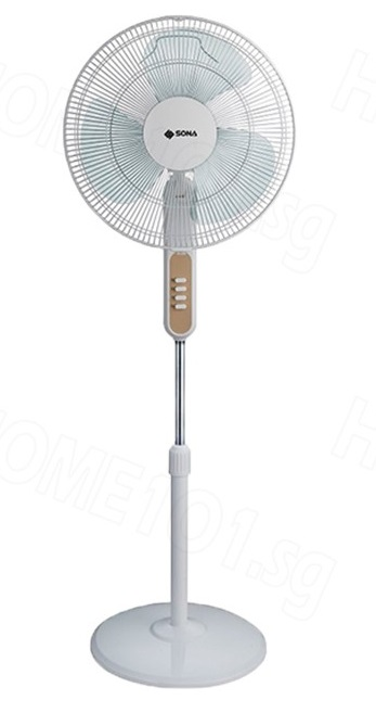 Sona Stand Fan 16 inch Without Remote Control SFS1170