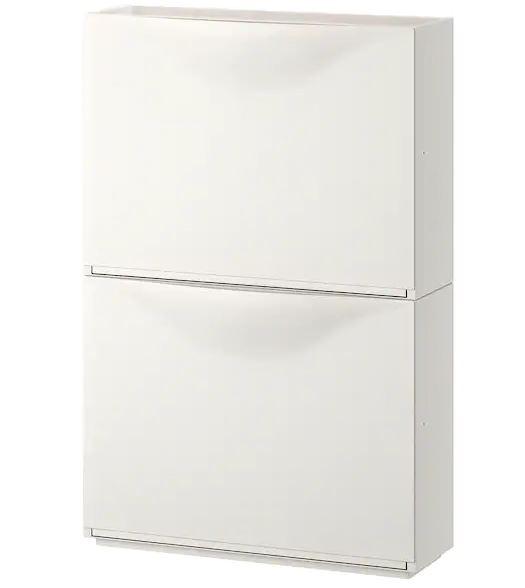 TRONES Shoe cabinet, white color