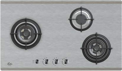 Turbo Incanto T883ssv 3 Burner Stainless Steel Hob