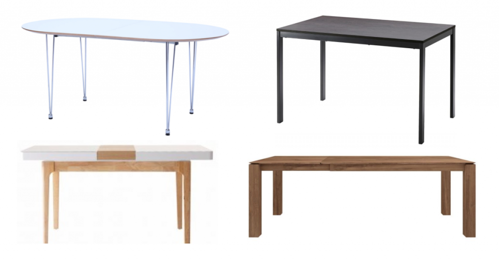 best extendable dining tables in singapore