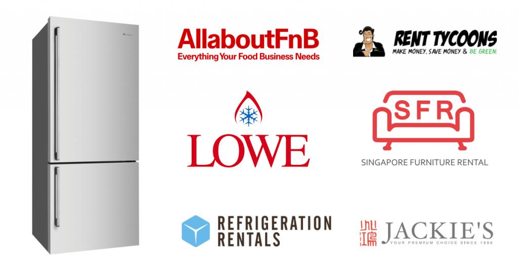 Fridge rental companies in singapore