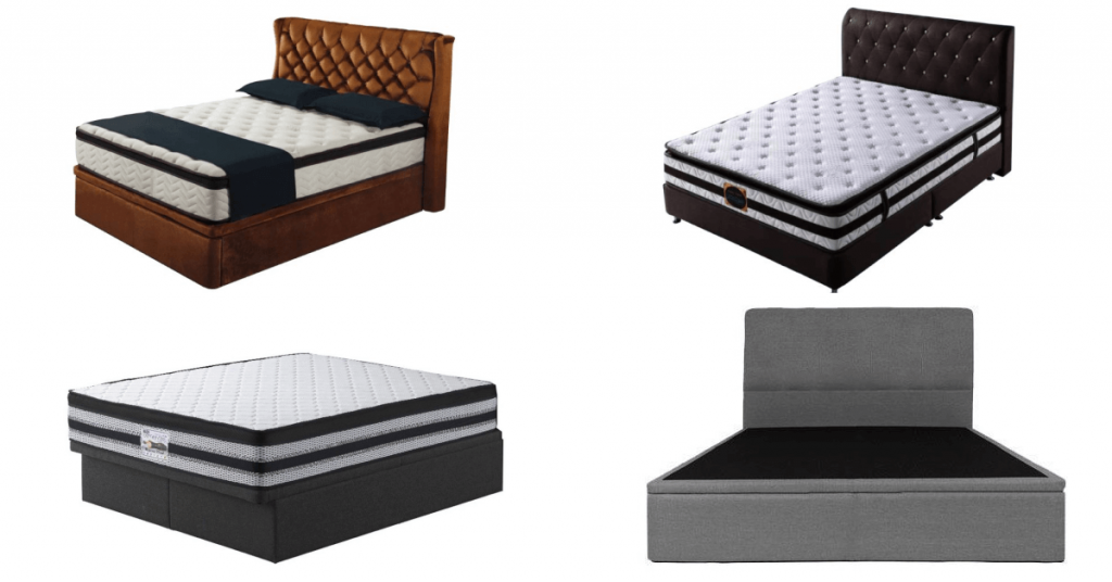 Diffefrent types of bed storage in singapore