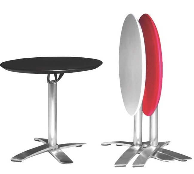 Alton Folding Dining Table - Dia800