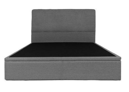 Devonne Grey Fabric Storage Bed