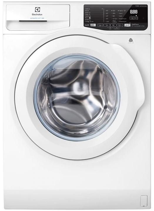 Electrolux EWF7525EQWA 7.5kg UltimateCare  Front Load Washing Machine in Singapore