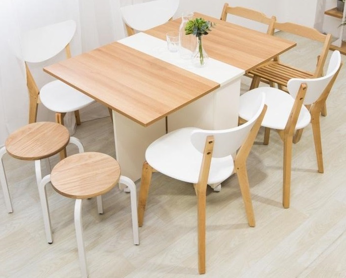 Foldable Smart Dining Table