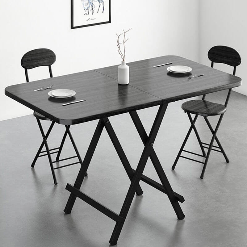 Foldable Dining Table Small Household Table