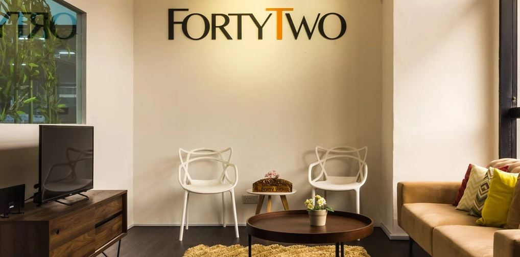 Forty Two showroom