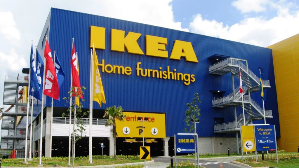 IKEA home furnishing store in Singapore