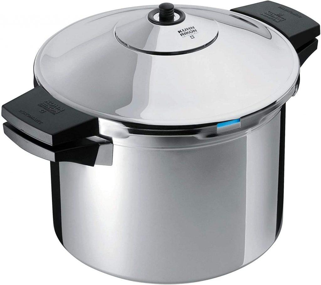 "Kuhn Rikon DUROMATIC Pressure Cooker 8.75"" 6.3 qt"