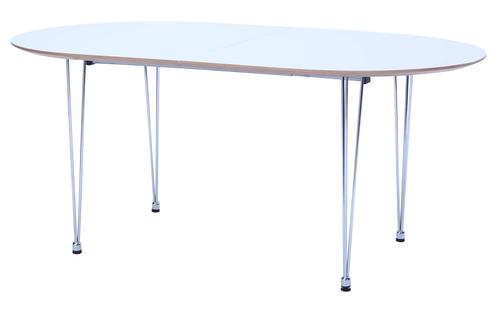 HipVan Rikku Extendable Oval Dining Table