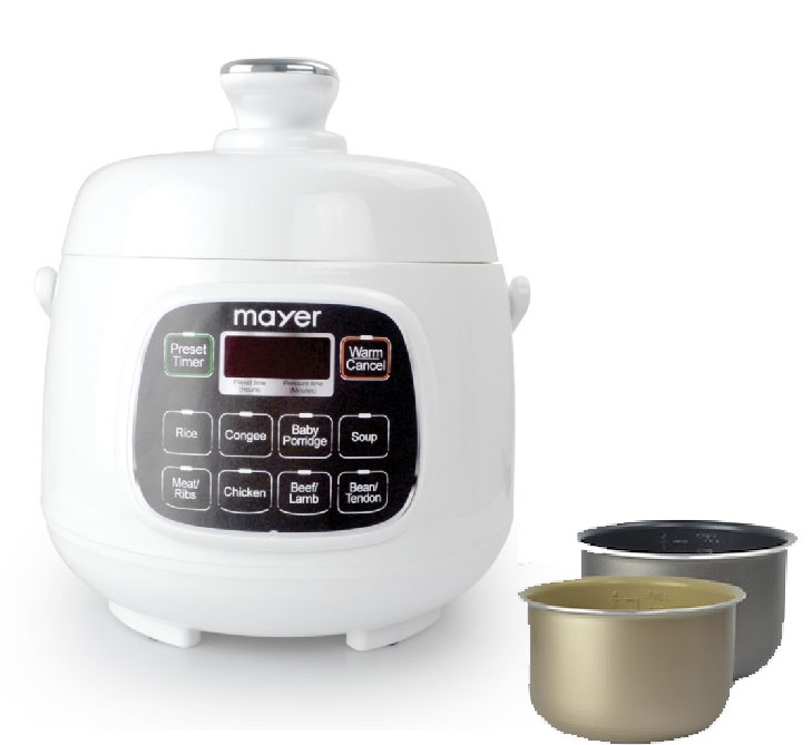 Mayer 1.6L Intelligent Multi-Cook Electric Pressure Cooker MMPC1650