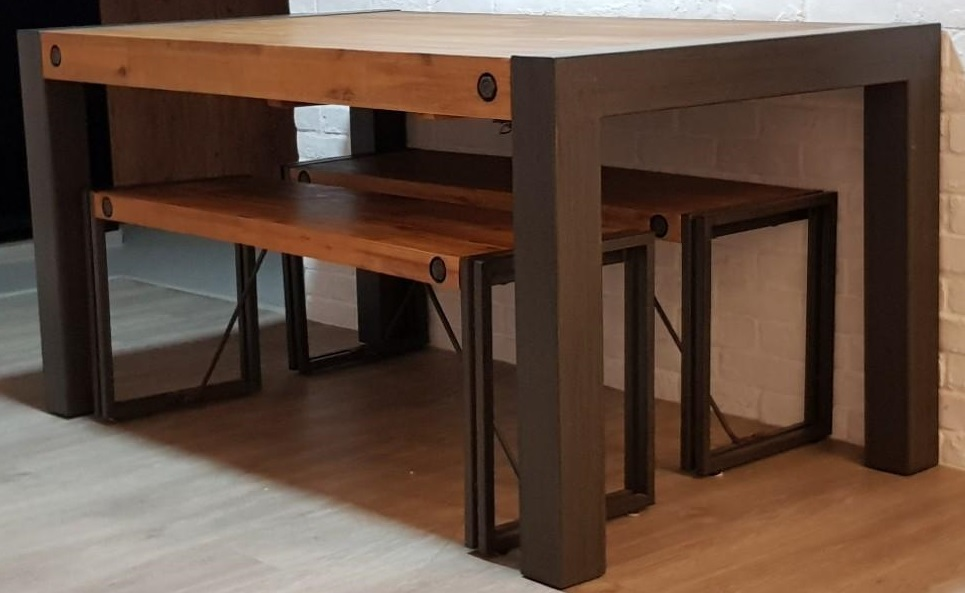 Nook & Cranny City Dining Extendable Table