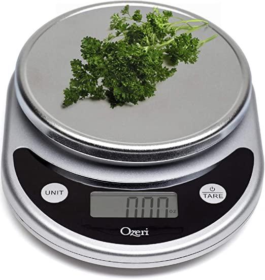 Ozeri ZK14-S Pronto Digital Multifunction Food Scale