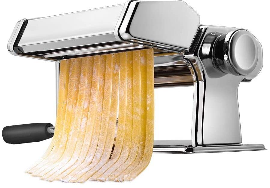 Pasta Machine, iSiLER 150 Roller Pasta Maker