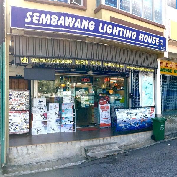 SEMBAWANG LIGHTING house in singapore