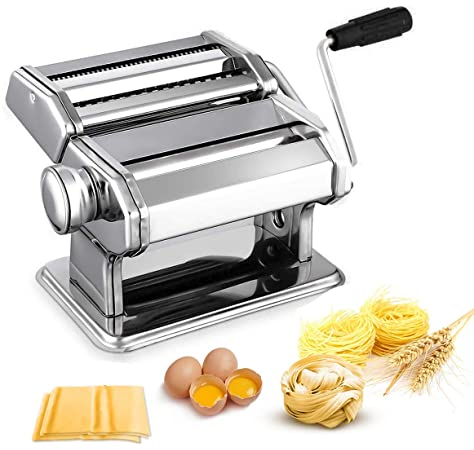 Stainless Steel Hand Operated Pasta Maker